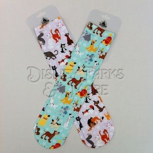 Dogs and Cats of Disney Socks Set - W 5-10 / M 5-9